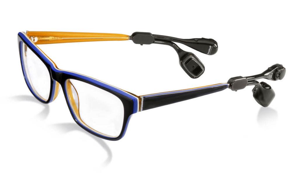 Bruckhoff Hörgeräte Brillensystem