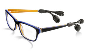 Bruckhoff Hörgeräte Brillensystem Hörbrille
