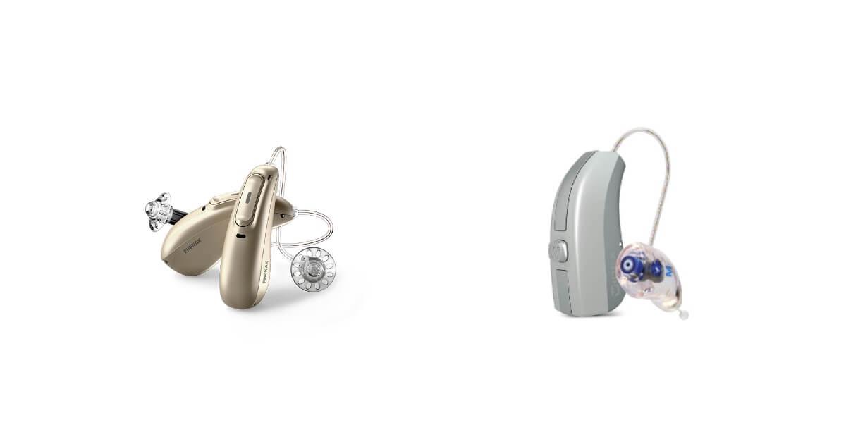 Phonak oder Widex Hörgeräte